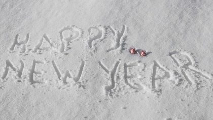 Einen ruhigen und entspannten Jahresbeginn.